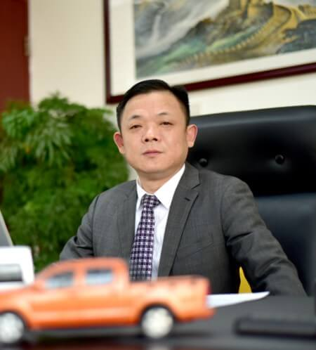 Current chairman of Liaoning Shuguang Automobile Group Co., Ltd